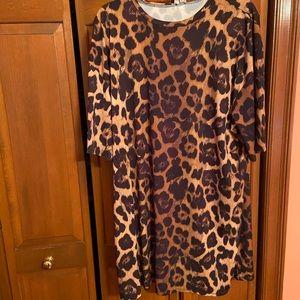 NWOT Size 12 ASOS cheetah dress